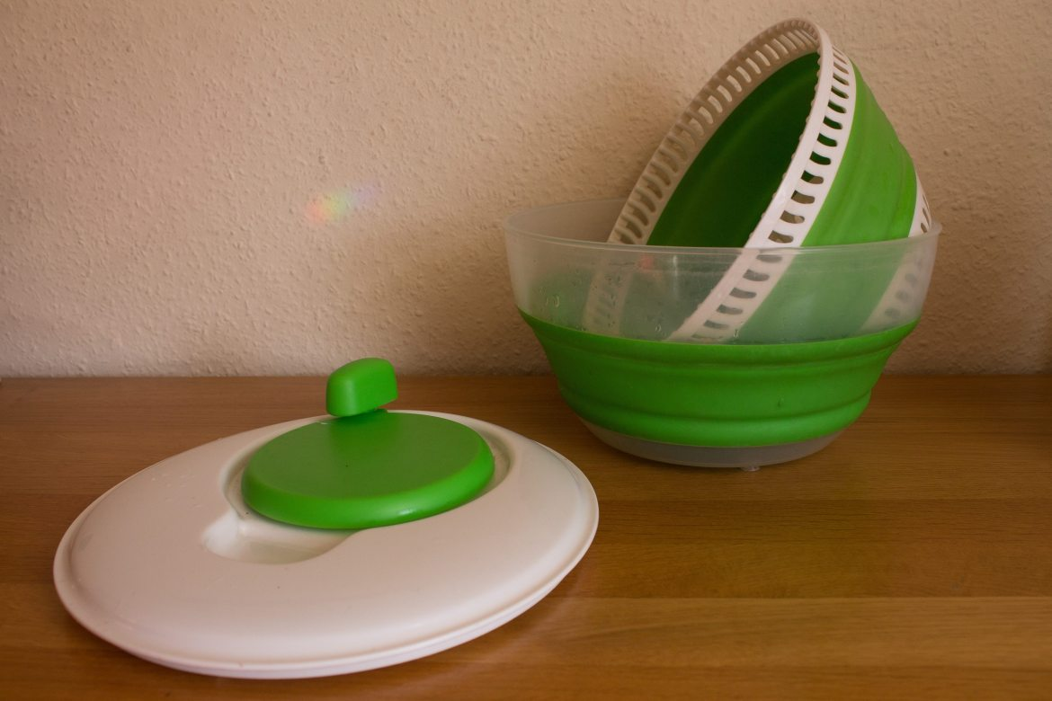 Collapsible Salad Spinner