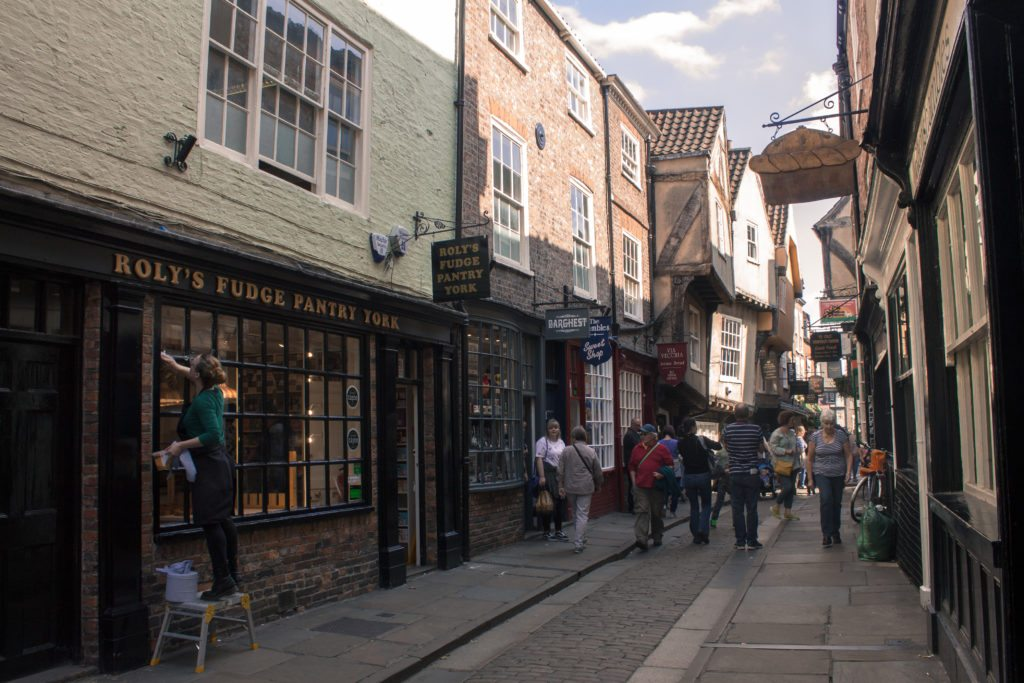 The Shambles street