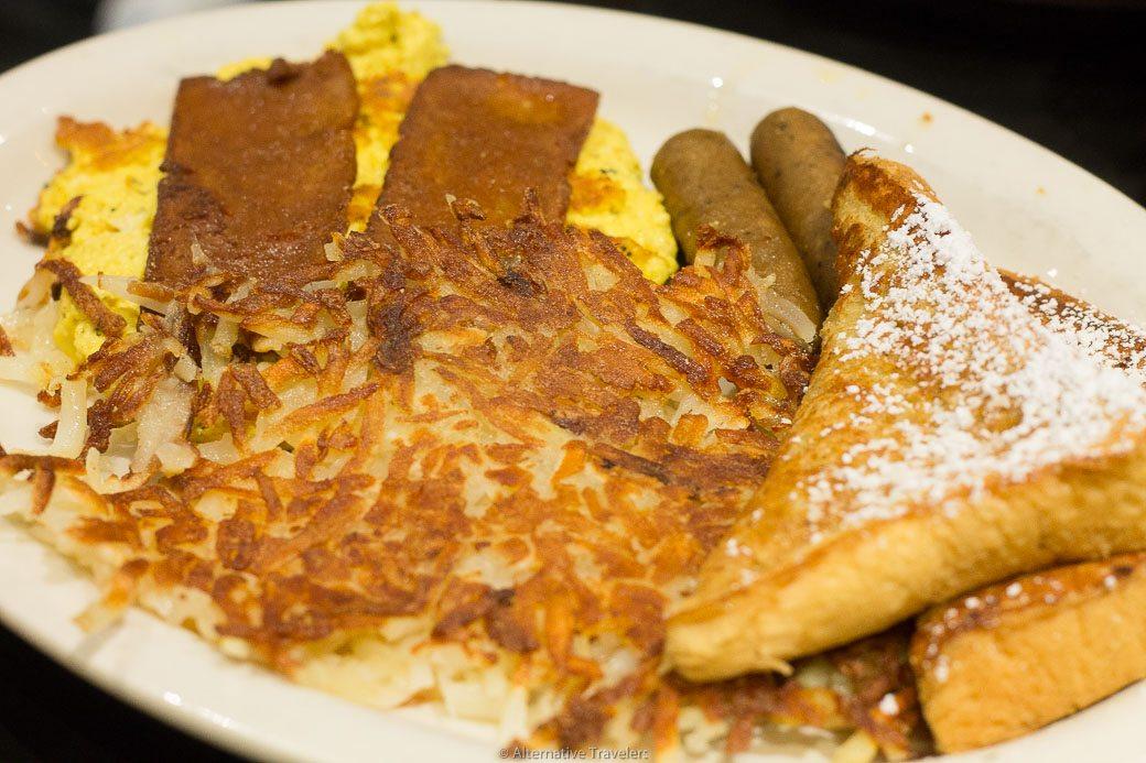 The French Toast Slam - Vegan Brunch in Bushwick at Champs Vegan Diner