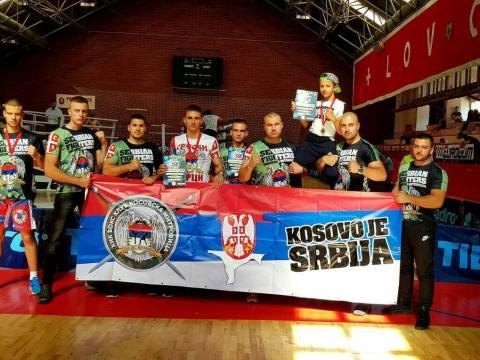 KBK Kosovska Mitrovica, takmičenje na Cetinju
