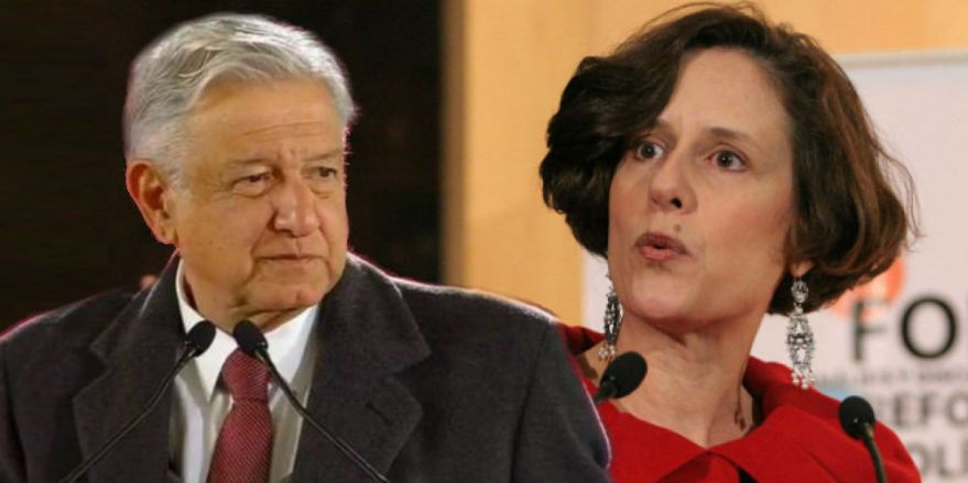 "Denise Dresser acude por primera vez a una ""mañanera"" de AMLO | Alternativo.mx"