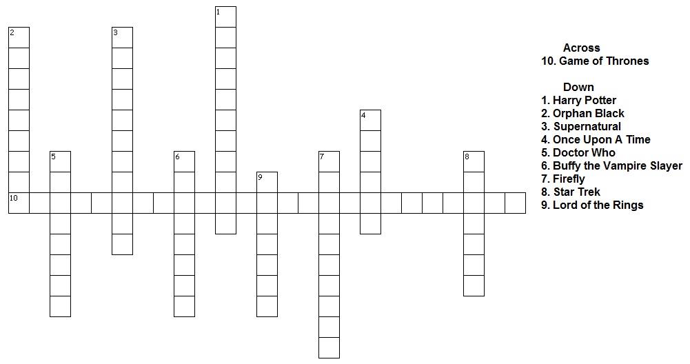 Category: Crossword