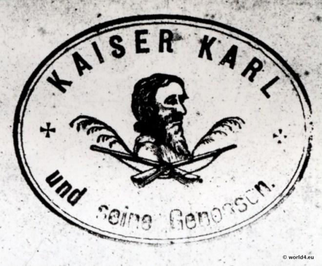 Kaiser Karl von Untersberg (Untaschberg). Haberfeldtreiben.