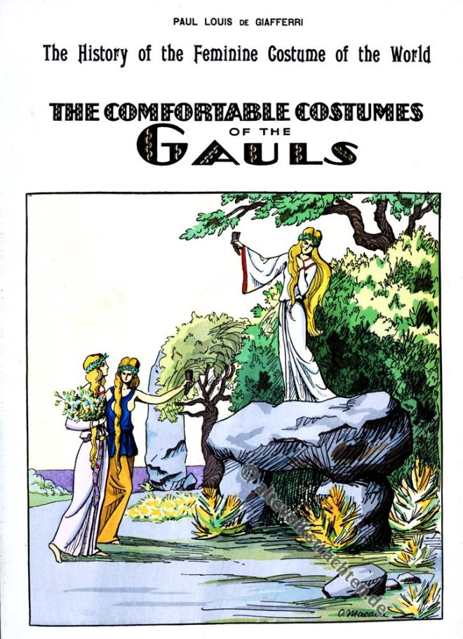 Paul-Louis de Giafferri, Gallien, Merovinger, Kostümgeschichte, Modegeschichte, Frankreich