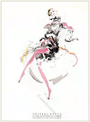 Lotte, Pritzel, Puppen, Friedmann, Weber, Otto Kerl, Styl, Modemagazin, 1920er, Modegeschichte, Art deco,