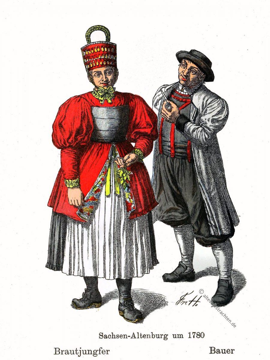 Die Hormtjungfern Altenburger Trachten