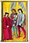Der Herzog von Touraine, Dauphin von Frankreich 1422.