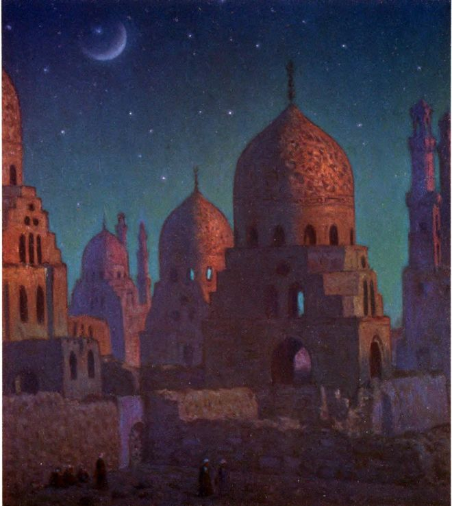 Tombs, Khaliphs, Moslem, civilisation, Etienne Dinet