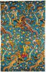 Brokat aus Persien, um 1600. Figuraler persischer Stoff.
