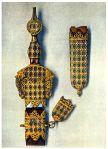 Maurisches Schwert. Granada der Nasriden, Ende des 15. Jahrhunderts.