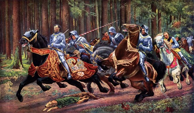 Charles the Bold, escape