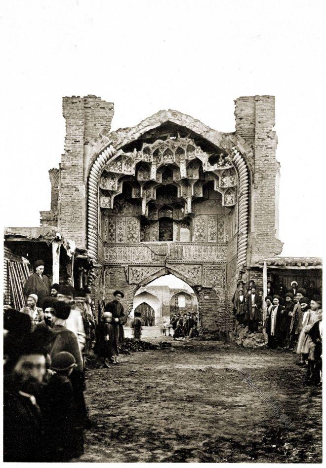 Moschee, Ardabil, Scheich, Safi ad-Din, Baukunst, Persien, Portal