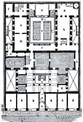 Grundriss, Griechenland, Haus, Antike, Palast