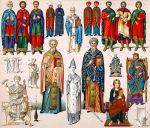 Byzanz. Griechisch,-lateinischer Klerus. Asketen. Kaiser u. Offiziere.