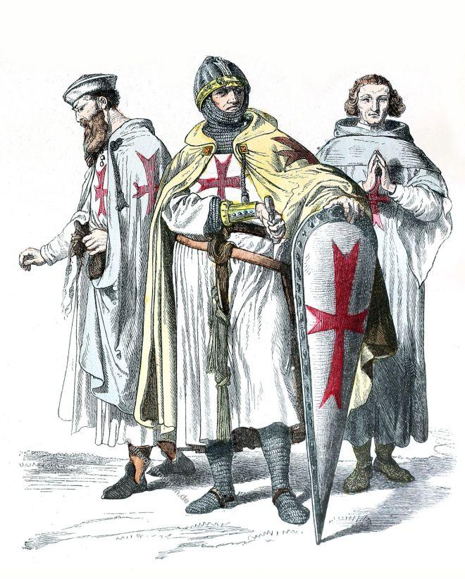 Templer, Tempelritter, Ritterorden, Kreuzzüge, Kostüme, Rüstungen,