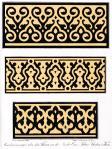 Mosaikverzierungen der Umm al-Sultan Shaaban Moschee zu Kairo.