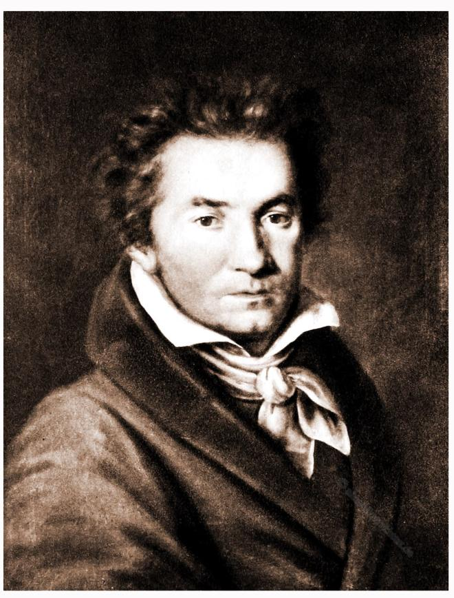 Beethoven, Portrait, Young,