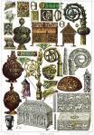 Frankreich. Mittelalterliches Kunsthandwerk. 10. bis 12. Jahrhundert.