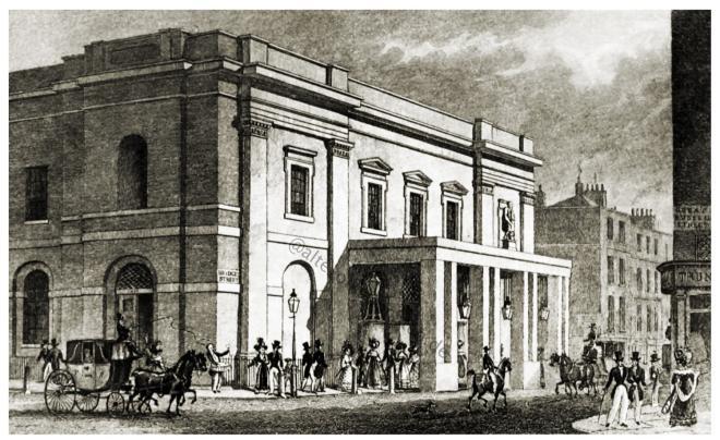 Drury Lane Theater, London,