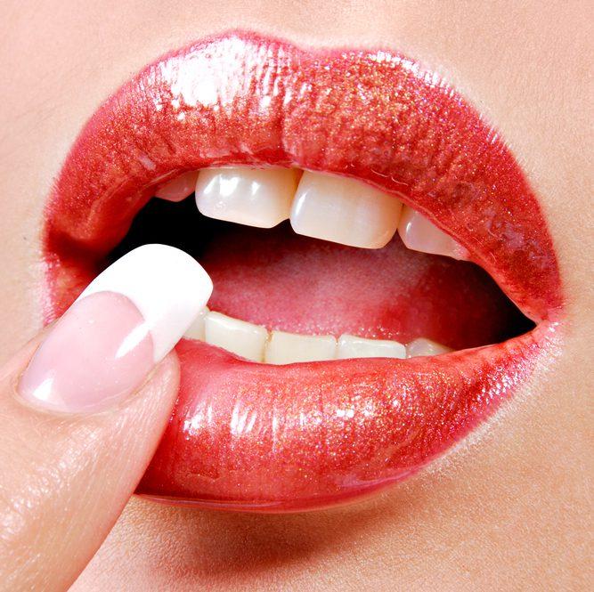 sensual lips