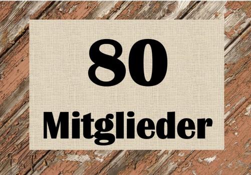 Wachstum: 80 Verbandsmitglieder