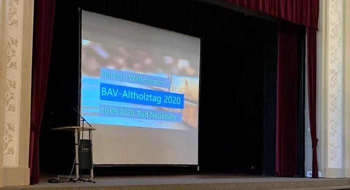 Herzlich Willkommen zum BAV-Altholztag 2020