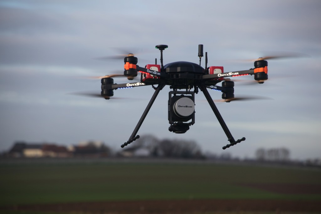 Sondage LiDAR embarqué sur drone
