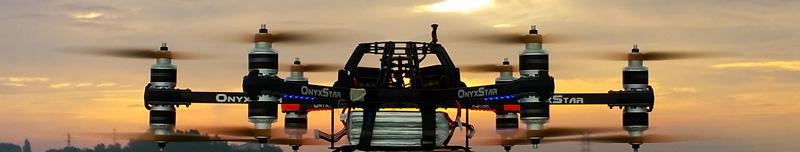 Hydra 12 Dodeka UAV RPAS - Prises de vue aériennes pour le cinéma, la télévision & photographie aérienne