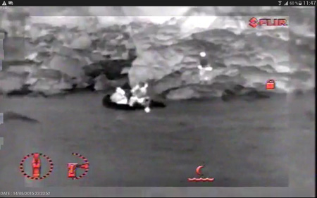 SAR-search-and-rescue-thermal-drone-image