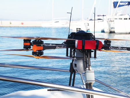 UAV for SAR on boat - FOX-C8 XT Observer