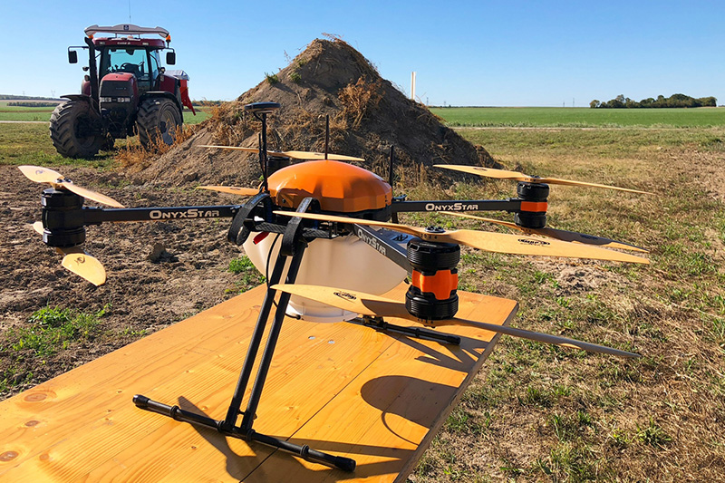 Agriculture drone operations