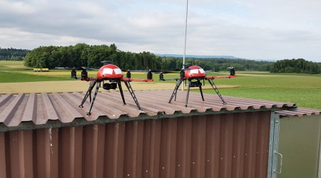 Training / learning quadrotor drone for pilots