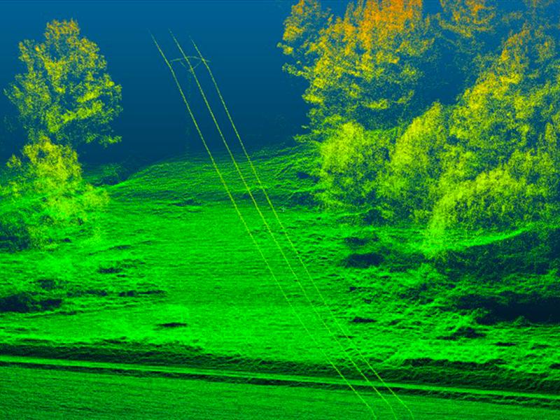 Drones LIDAR scanning