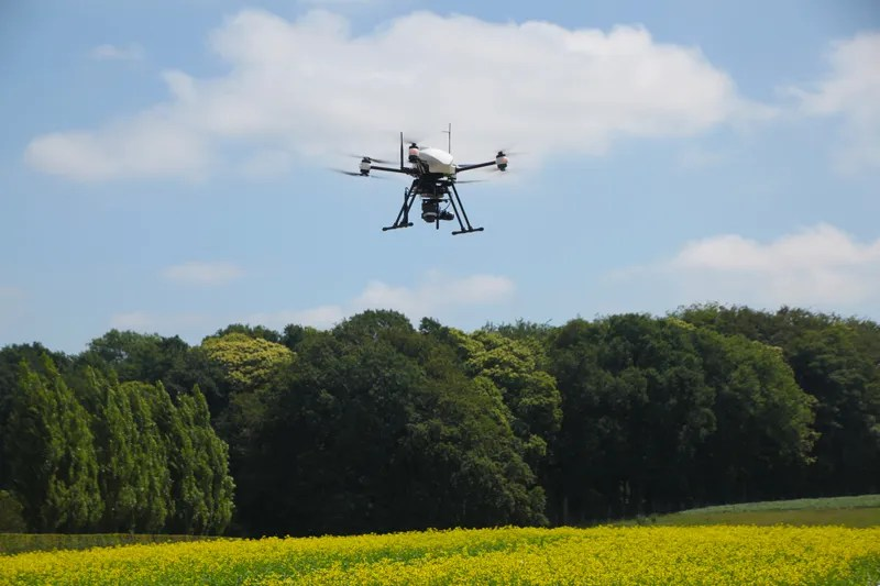 Precision agriculture with drone