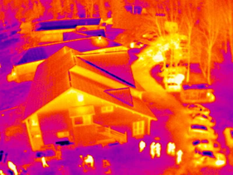 altigator drone uav thermography aerial thermal flir optris thermographic 3 - Applications pour drones