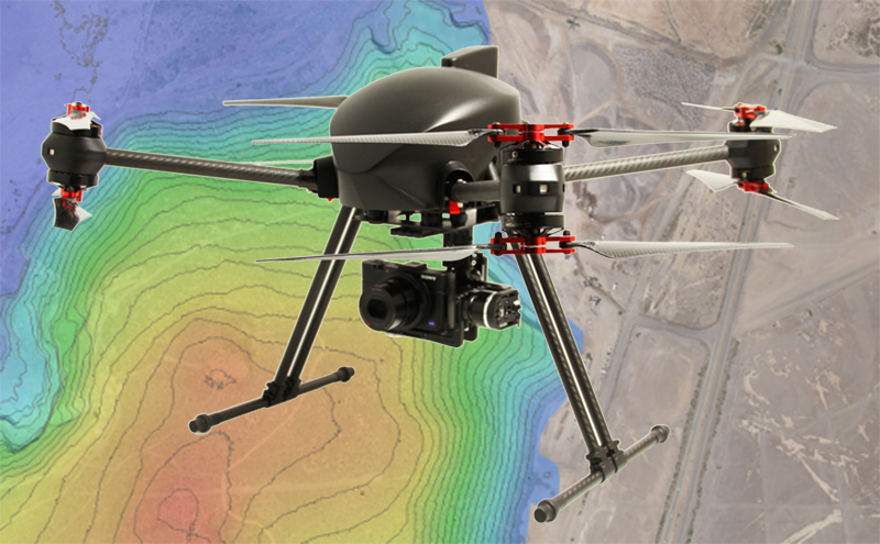 XENA Geo – Complete drone solution for Geomatics by drone