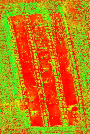 altigator onyxstar drone uav ndvi orthophoto agriculture thermal agisoft photoscan 202x300 - Drone thermography for agronomic research and crop control