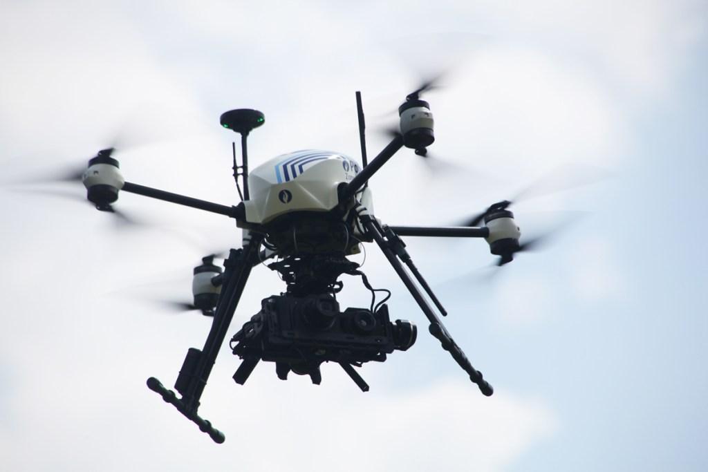 altigator onyxstar xena drone 360 security camera gimbal nacelle - XENA