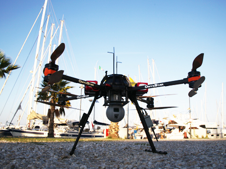 Notre drone avant sa mission