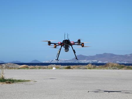 drone avec vision thermique pour le secours des migrants - Un drone pour secourir les migrants