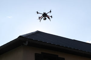 Drone camera thermique infrarouge