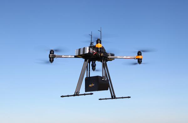 Sondage aérien par drone pour la géomatique, topographie, la cartographie, la géodésie, la géographie et l'hydrographie