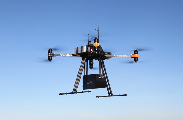 Drone aerial survey for geomatics, topography, cartography, geodesy, geography and hydrography
