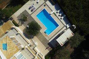 drone real estate image - Aerial photography with a drone for the real estate market