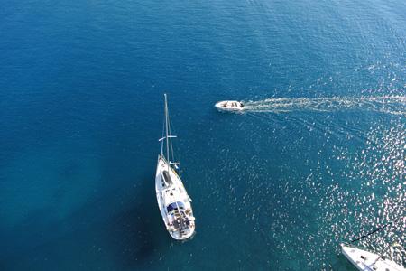 drone vue des airs secours en mer - Les drones en appui aérien pour le sauvetage en mer
