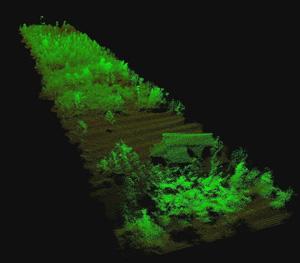 Lidar drone sensing