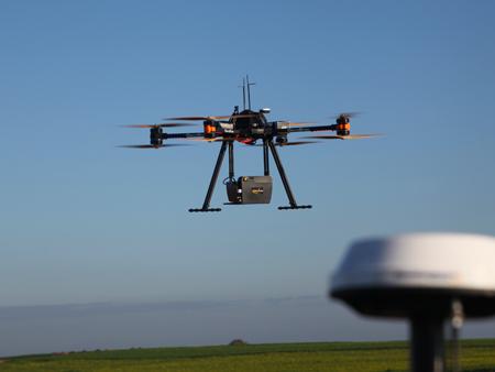 Lidar sur drone OnyxStar FOX-C8-HD GIS