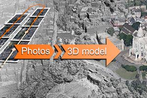 Modelisation 3D sur base d'images