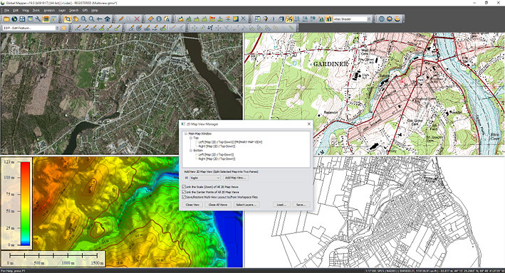multiview globalmapper - Global Mapper: GIS for everyone