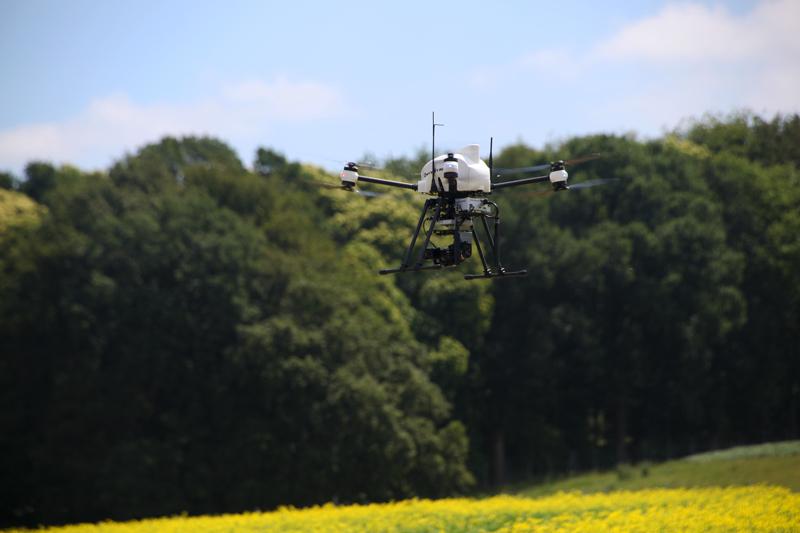 onyxstar drone uav thermography thermographic precision agriculture crop yield management 1 - La thermographie par drone pour la recherche agronomique et le contrôle des cultures